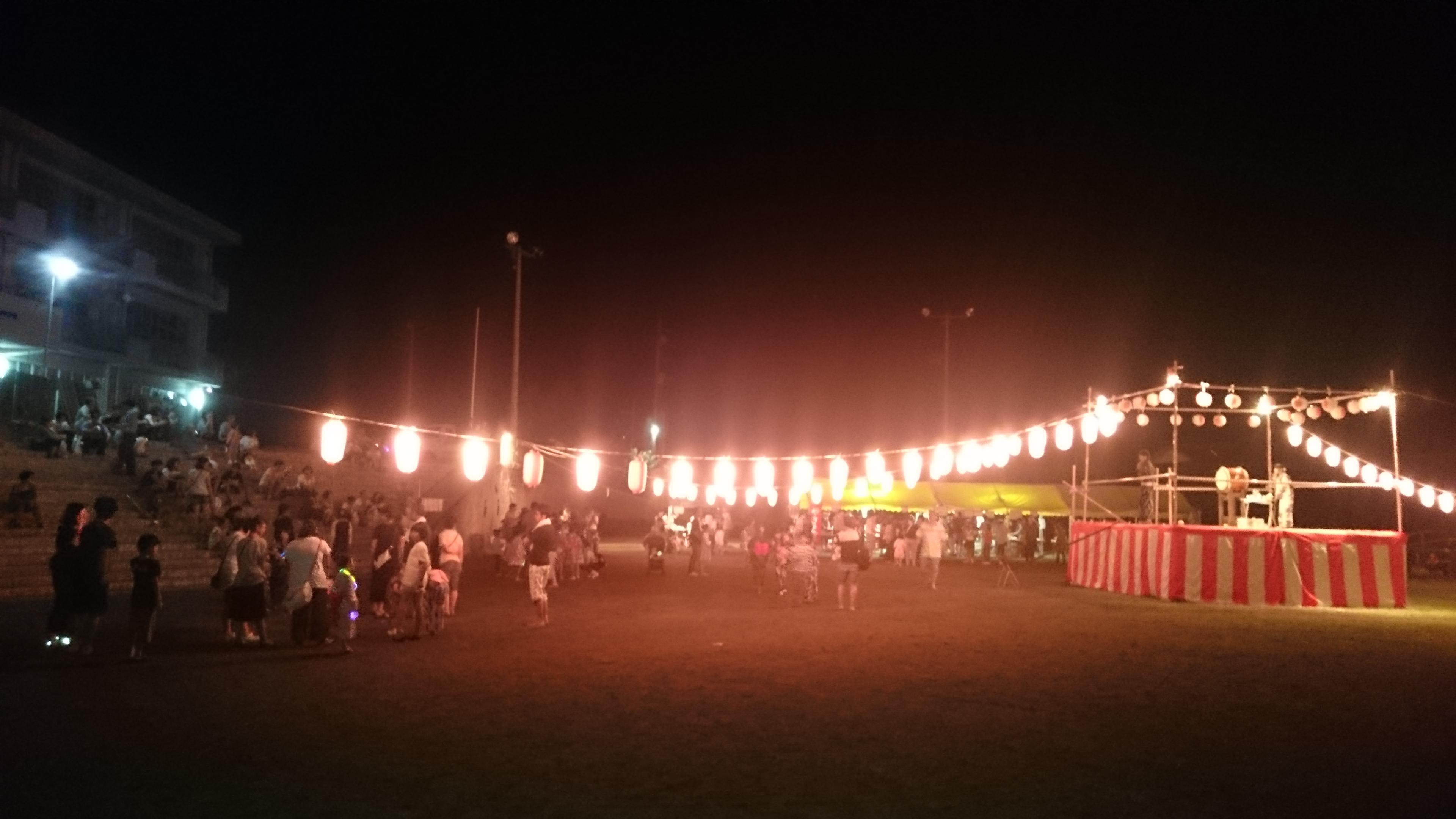 神流町盆踊り2017年8月13日